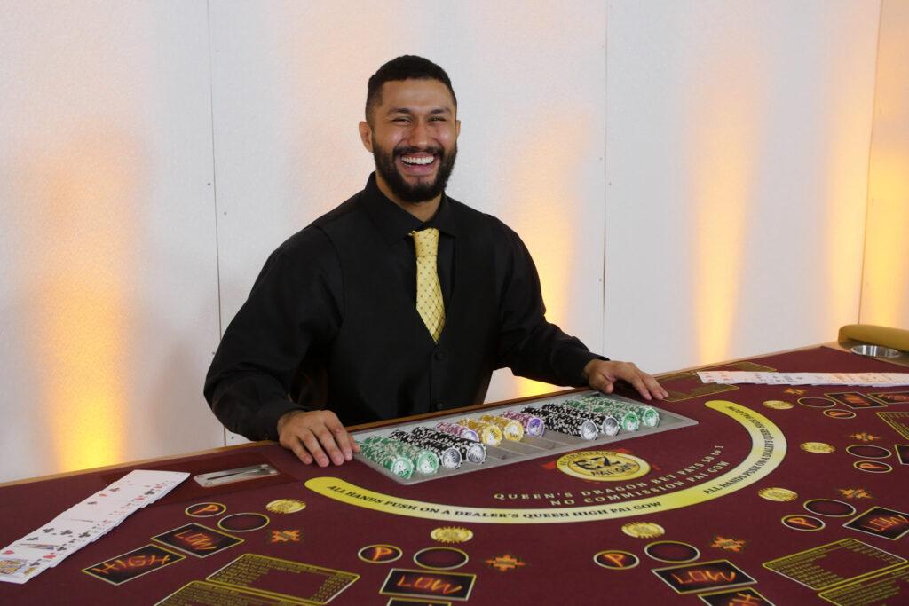 Poker Dealer for Hire